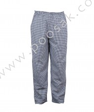 Chef Pant Check Fabric