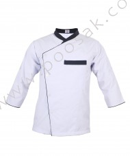 Chef Coat Quarter Shoulder