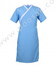 Hospital Patient Gown with white papin