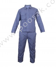 Worker Uniform Set (Cotton, Shirt, Pant)